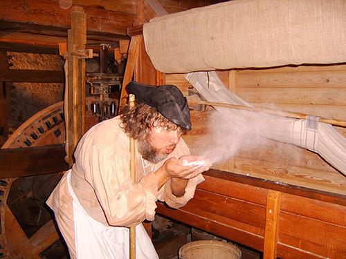 Mühlenführung in der Zschoner Mühle