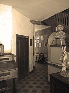 Eingang in die historische Mühlenschänke
