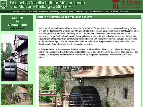 Deutsche Gesellschaft für Mühlenkunde und Mühlenerhaltung