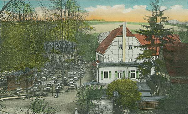 Die Zschoner Mühle um die Jahrhundertwende