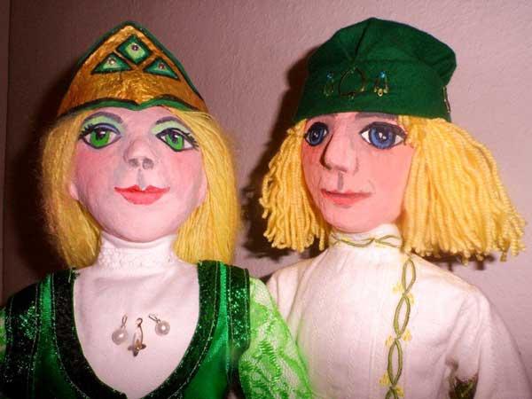 Die Froschprinzessin - Puppentheater Eva Johne