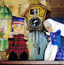 Kasper und der Räuber Zappzerapp - Puppentheater Glöckchen