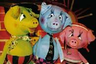 Die 3 kleinen Schweinchen - Puppentheater Glöckchen