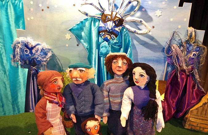 Puppenspiel in der Theaterscheune