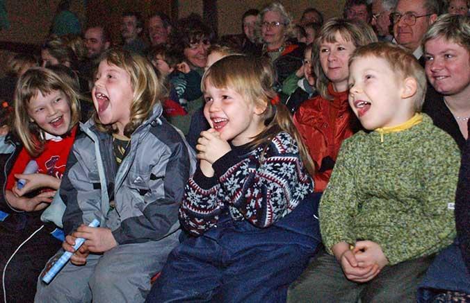 Puppentheater in der Theaterscheune