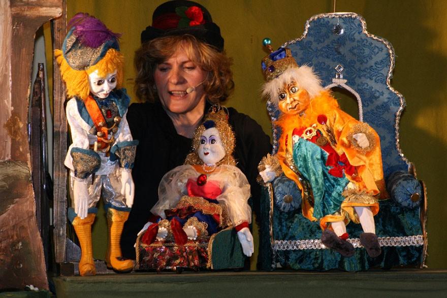 Der Froschkönig - Puppentheater Glöckchen
