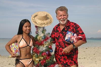 Dr. Peter Kersten auf den Christmas Inseln