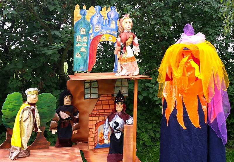 Zauberblume des Amethyst - Mondstein Puppentheater