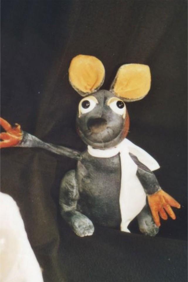Die Maus Frederick - August Theater mit Puppen Dresden