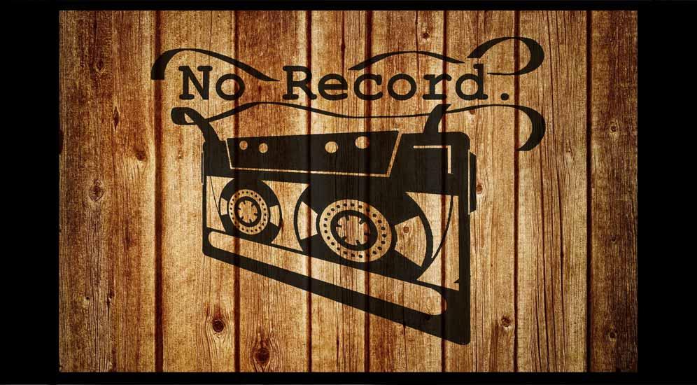 NO RECORD live