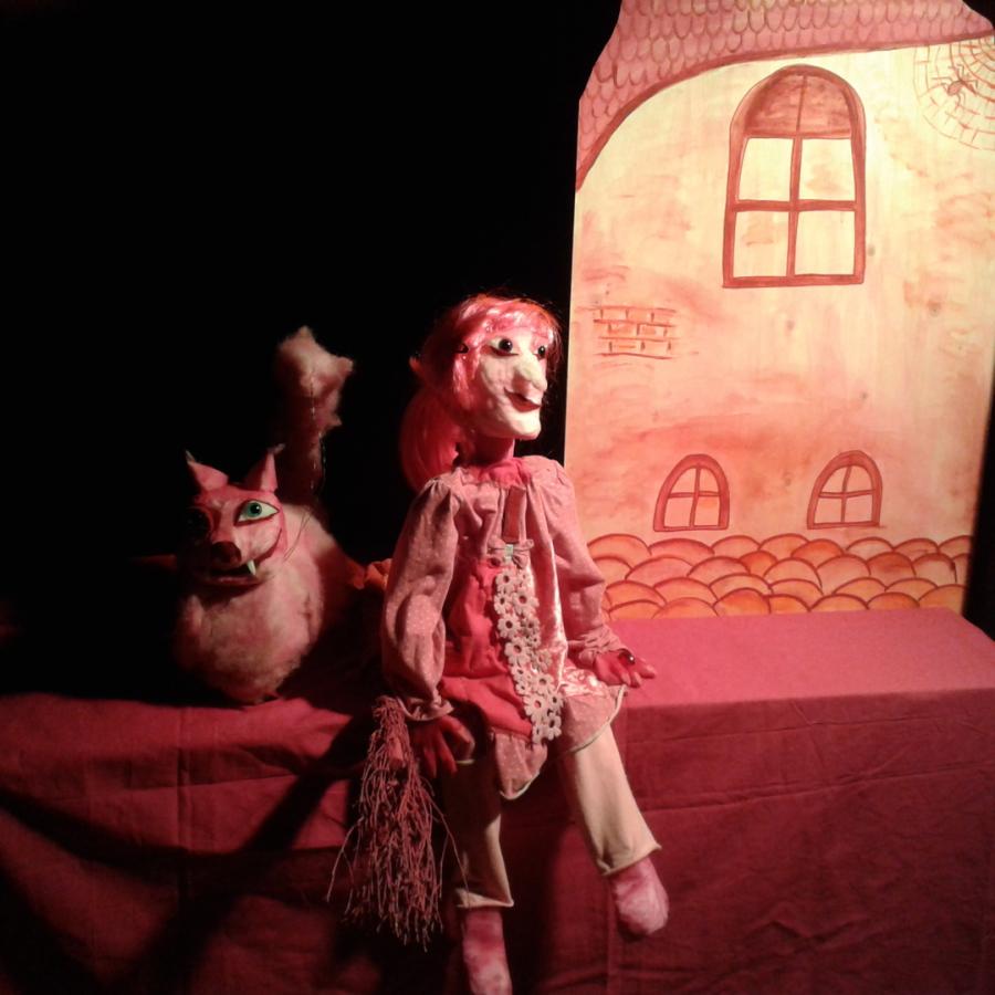 Was ist bloß bei der rosa Hexe los - Mondstein-Puppentheater