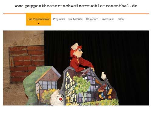 Puppentheater Schweizermühle Rosenthal