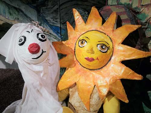 Puppentheater für Kinder in der Zschoner Mühle