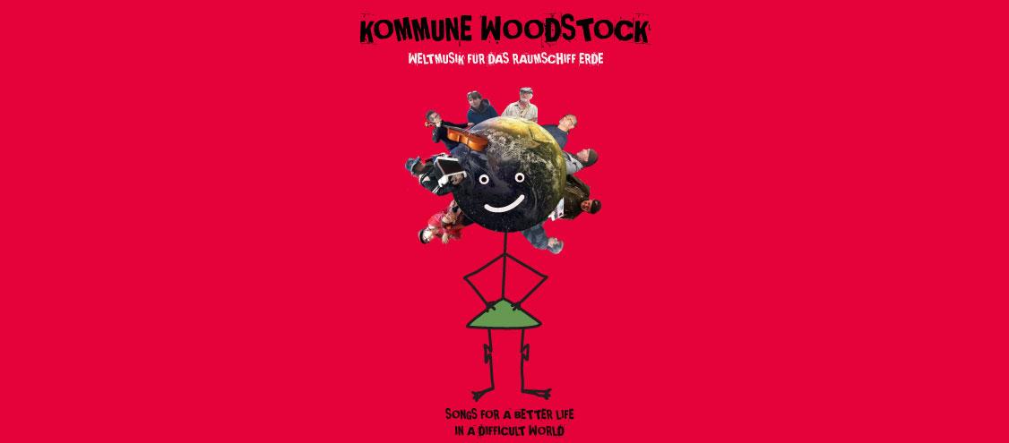"Kommune Woodstock ""LOVE AND PEACE UND LANGE LODEN"""